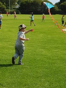 Harmony Day kite flying