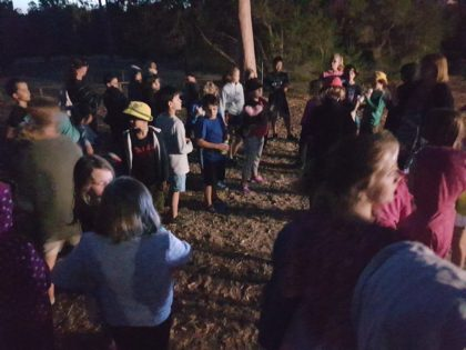 2018 Yr 3-7 camp - DOuglas Scrub night walk