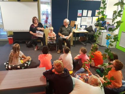 Elders Afternoon - grandparents sharing stories